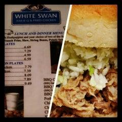 Photo taken at White Swan Bar-B-Que & Fried Chicken by Antwan J. on 12/30/2013
