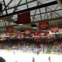 Photo taken at Lynah Rink by Marya A. on 12/2/2012