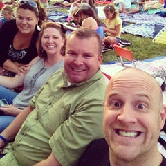 Photo taken at Shawnee Mission Theater In The Park by Michael H. on 7/8/2013