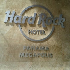 Photo taken at Hard Rock Hotel Panama Megapolis by Marcela P. on 12/16/2012
