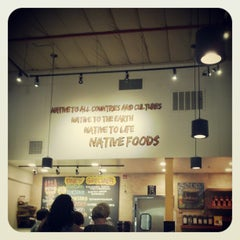 Photo taken at Native Foods by Eric 'Otis' S. on 2/6/2013