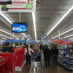 Photo taken at Walmart Supercenter by Jonathan H. on 12/21/2012