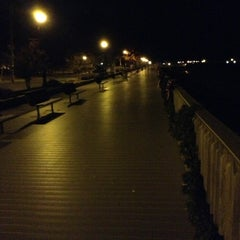 Photo taken at North Beach Boardwalk by Nick S. on 11/18/2012