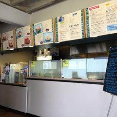 Photo taken at Hightide Burrito Co. by Lauren V. on 1/19/2013