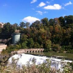 Photo taken at Lower Falls Park by Jenna K. on 9/28/2013