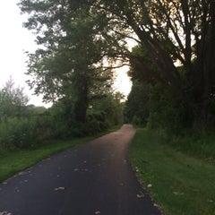 Photo taken at Lake Ontario State Parkway Multi-Use Trail by Jenna K. on 8/5/2014