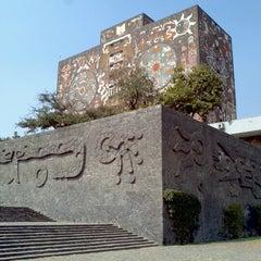 Photo taken at Universidad Nacional Autonoma de Mexico by RODRIGO Z. on 11/22/2012