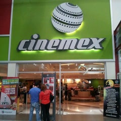 Photo taken at Cinemex by Angela F. on 10/27/2012