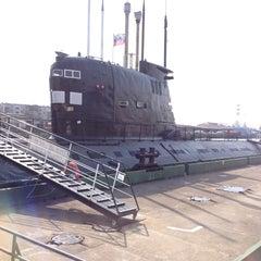 Photo taken at Подводная лодка «Б-413» by Александр Ш. on 4/18/2013