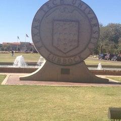Photo taken at Texas Tech University by Lexi R. on 10/18/2012