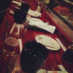 Photo taken at Kobe's Japanese Cuisine by Emily F. on 1/1/2013