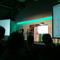 Photo taken at DroidconUK by Benjamin A. on 10/24/2013