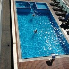 Photo taken at Aqua Hotel Rimini by Diana O. on 6/5/2013
