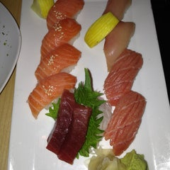 Photo taken at Sushi Sasa by Robb J. on 1/1/2013