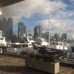 Photo taken at Granville Island Hotel by Steve P. on 11/8/2013