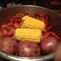 Photo taken at Bayou City Seafood & Pasta by Jayci G. on 2/17/2013
