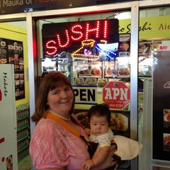Photo taken at Makoto Sushi by Lena S. on 10/29/2012