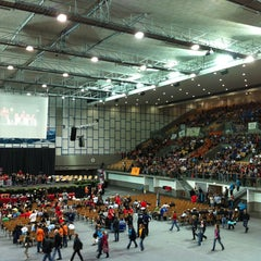 Photo taken at Olympiahalle by Manfred E. on 5/12/2013