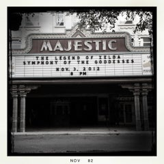 Photo taken at The Majestic Theatre by Oscar D. on 11/3/2012