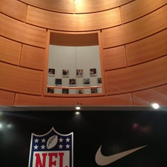 Photo taken at Niketown Berlin by Oliver W. on 1/11/2013