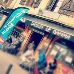Photo taken at Place De L'Estrapade by Vasco L. on 3/27/2013