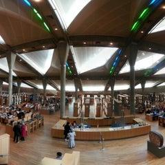 Photo taken at Bibliotheca Alexandrina | مكتبة الإسكندرية by Duc L. on 1/20/2013