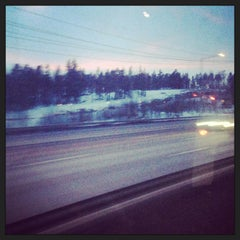 Photo taken at Swebus Stockholm - Arlanda by Евгения Ш. on 3/4/2013
