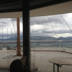 Photo taken at Ναυτικός Όμιλος Ελλάδος (Yacht Club of Greece) by Yiannis K. on 12/8/2012