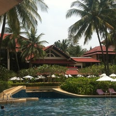 Photo taken at Dusit Thani Laguna Phuket by Adriana on 2/21/2013