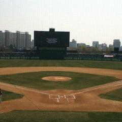 Photo taken at 무등야구장 (Mudeung Baseball Stadium) by Sunny P. on 3/31/2013
