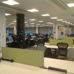 Photo taken at Facebook Dublin by Erhan A. on 12/20/2012