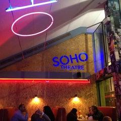 Photo taken at Soho Theatre Bar by Simon H. on 1/21/2013