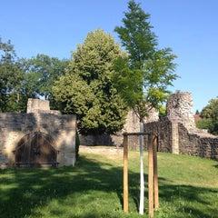 Photo taken at Golfanlage Schloss Nippenburg by Muhammed Ali D. on 7/16/2013