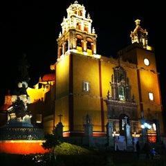 Photo taken at Basílica Colegiata de Nuestra Señora de Guanajuato by Gerardo L. on 11/12/2012