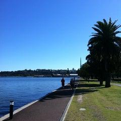 Photo taken at Swan River by Arek O. on 5/15/2013