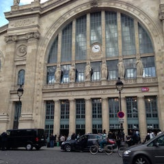 Photo taken at Gare SNCF de Paris Nord by MariaCarolina Gardini L. on 5/12/2013