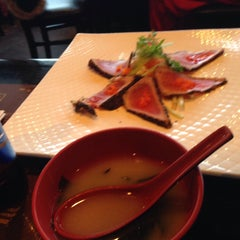 Photo taken at Wokano Japanese Steakhouse by Alejandra G. on 2/20/2015