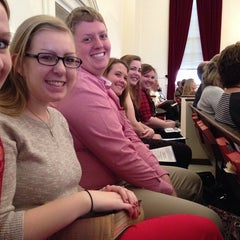 Photo taken at Central United Methodist Church by Taylor L. on 2/16/2014
