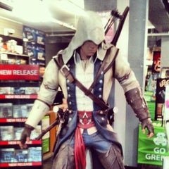 Photo taken at EB Games by Eric F. on 10/10/2012