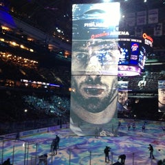 Photo taken at Rogers Arena by Melodie F. on 2/18/2013