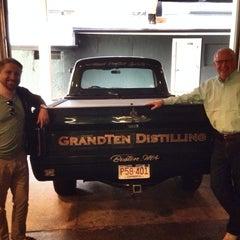 Photo taken at GrandTen Distilling by Jeff B. on 8/23/2014