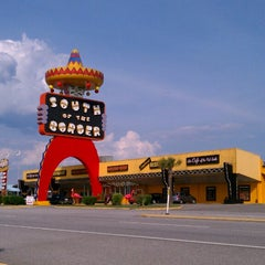 Photo taken at South of the Border by John F. on 5/10/2013