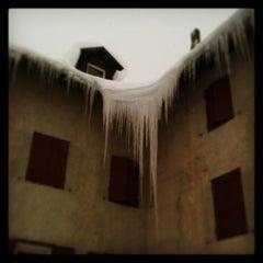 Photo taken at Rifugio Passo Sella by Dino R. on 12/13/2012