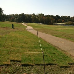 Photo taken at Charles T. Myers Golf Course by Jason R. on 10/20/2012