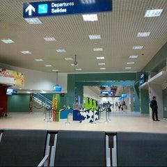 Photo taken at Aeropuerto Internacional de Mérida (MID) by Marco R. on 11/26/2012