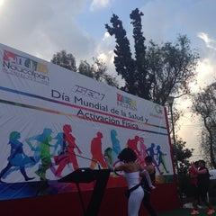 Photo taken at Deportivo Boulevares by Yali C. on 4/8/2014