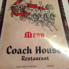 Photo taken at Coach House Restaurant by Brian B. on 4/6/2013