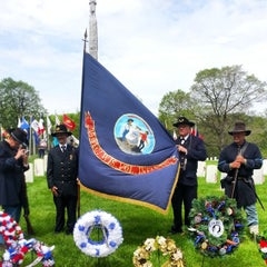 Photo taken at Wood National Cemetery by jonathan b. on 5/26/2014