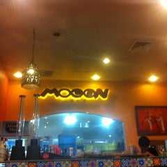 Photo taken at Mooon Café by Celyn G. on 11/3/2012