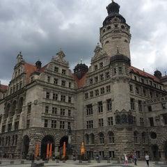 Photo taken at Burgplatz by Ronald W. on 6/15/2014
